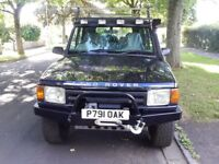 Land Rover Discovery 300tdi 1997 manual with lots of extras.
