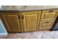 Kitchen units and work top for sale!
