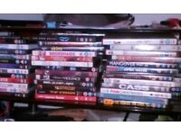 Mixed dvds 80+ like new £25