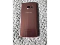 Pink Samsung S7 Edge, 32GB