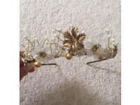 Wedding tiara / head dress