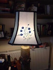 Upcycled Lampshades