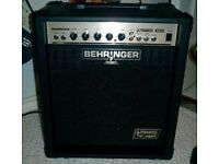 behringer ultrabass bx300 guitar amp in excellent working condition,originaly cost £130