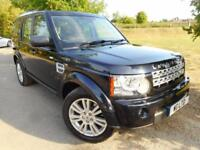 2011 Land Rover Discovery 3.0 SDV6 255 XS 5dr Auto FSH! 7 Seats! 5 door Estate