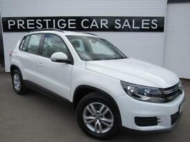 VOLKSWAGEN TIGUAN 2.0 S TDI BLUEMOTION TECHNOLOGY 5d 109 BHP (white) 2014