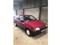 Ford Fiesta mk3 1.0 *12months mot*