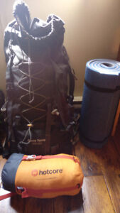 New sleeping bag and sleeping mat for sale in Nanaimo-Vancouver