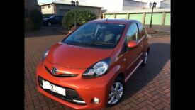 2013 Toyota Aygo 1.0 VVTi 3dr Fire Orange Top Spec - Free Road Tax - New Shape - Bargain Picanto C1