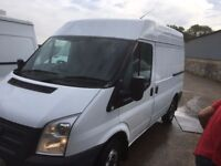 FORD TRANSIT SWB HIGH ROOF .2012.CLEAN VAN.SERVICE PRINT.READY FOR WORK