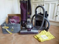 Kirby G5 Performance Vacuum with optional Carpet Shampoo System