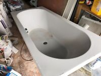 Bath, double ended without taps