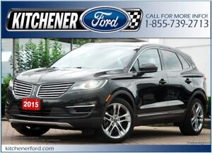 2015 Lincoln MKC TECH PKG/HTD&CLD SEATS/PANO ROOF/NAVI AND MORE!