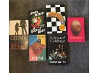 Selection of Irvine Welsh Books