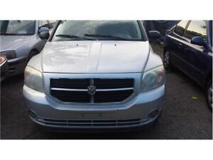2007 DODGE CALIBER AUTOMATIC 4 DOORS  HATCHBACK SAFETY