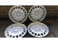 "Genuine Ford Transit Custom Wheel Trims 16"" Set of 4"