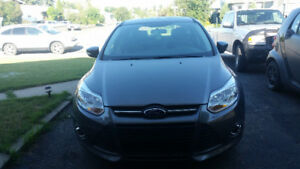 2014 Ford Fusion Grey Hatchback