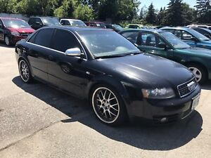 2004 Audi S4 B6 Parts car/build car MUST GO BY FRIDAY!!
