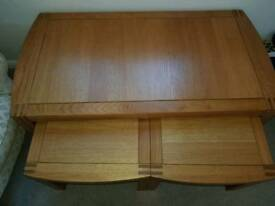 solid oak tables