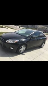 2012 Ford Focus reduced, extra tires, low kms