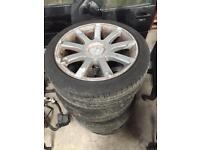 "Selling 18"" Audi wheels"