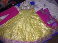 Indian anarkali size 8 (small)- brand new