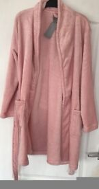 Light Pink Dressing Gown, M