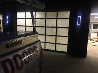 Garage doors services and installation