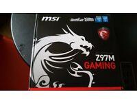 I5 4690k+MSI z97m gaming+16gb ram