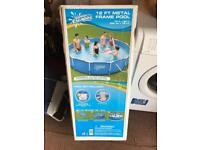 12ft Family swimming pool with pump and filter