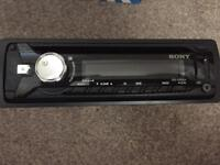 Sony car sterio