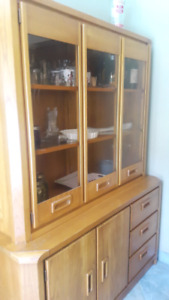 Solid Ash hutch