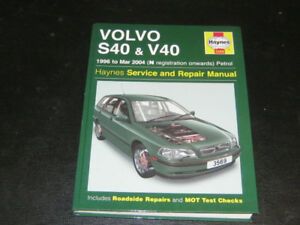 2000 Volvo S & V 40 Haynes Manual
