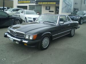 1989 Mercedes-Benz SL-Class 560 SL! RARE! NO ACCIDENTS!