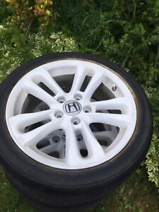 For sale in Yarmouth Honda Civic si rims