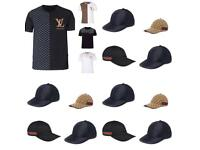Gucci Hats Armani Caps LV Versace Prada Louis Vuitton Designer Tshirts T- Shirts clothes London