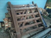 Wooden gates for sale