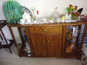 Beautiful Antique glass cabinet (Sold)