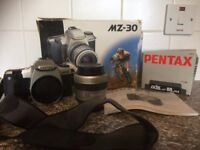 Pentax MZ-30 Camera with Zoom lens