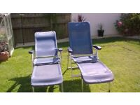 5 Position Relaxer Chairs and Leg rests