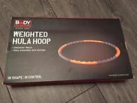 Body Sculpture Weighted Hula Hoop - almost new