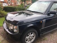 Lovely Range Rover HSE TD6 Auto 2004 Reg Consider a swap for a landrover discovery 05/06 plate
