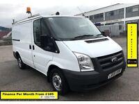 SALE SALE!! Ford Transit Van 2.2 260,1 Owner-EX BT, 100K Miles, FSH -8 Stamps, 1YR MOT -Elec Windows