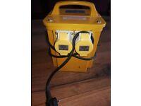 Brand new 110v transformer for sale