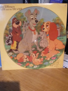 Vinyl lady and the tramp Disney