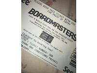 boardmasters 3 day ticket