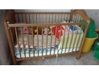 Beautiful hardwood cot