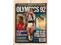 Official BBC Magazine Olympics 1992