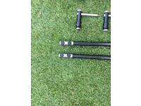 MPE buzz bars and bank sticks plus 2 stabilisers