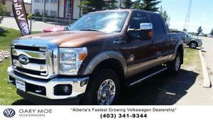 2012 Ford F-350 Super Duty Diesel Lariat Loaded with 5th wheel!