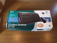 Logitech Cordless Desktop EX110